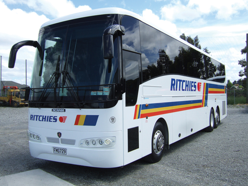 Dunedin New Zealand Transport and Tours - Buses and Shuttles